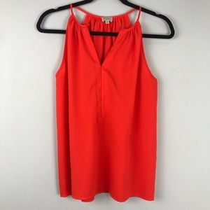 Cremieux Orange Tank Sz XS